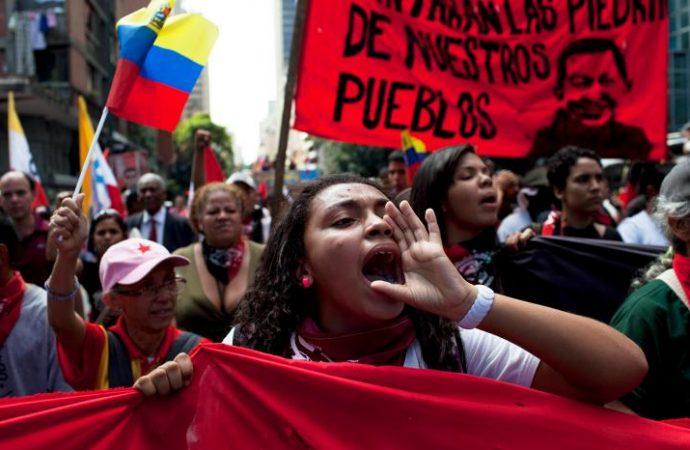 Παγκόσμια μέρα δράσης κι αλληλεγγύης με το λαό της Βενεζουέλας