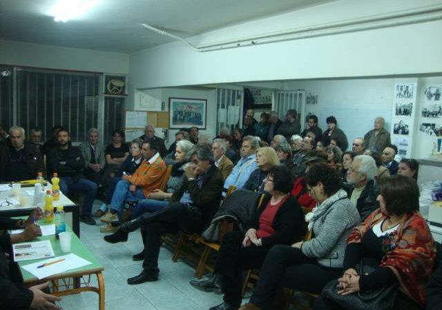 Με επιτυχία πραγματοποιήθηκε η εκδήλωση της Επιτροπής Ειρήνης Ιλίου