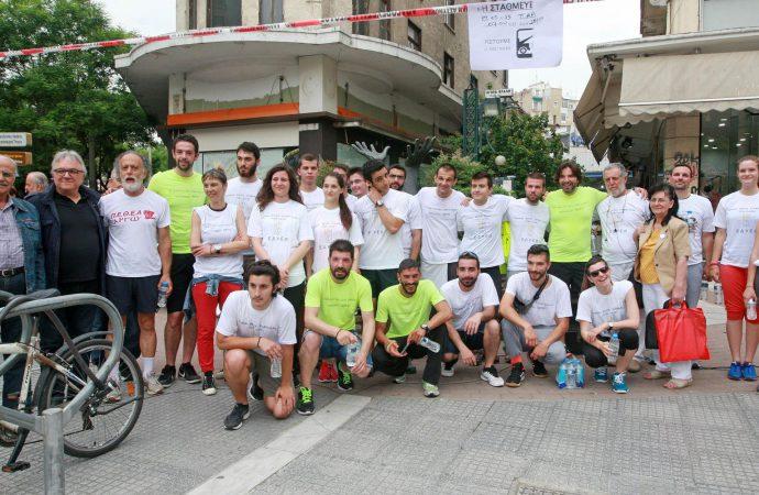 Θεσσαλονίκη: Λαϊκός Δρόμος και κατάθεση στεφάνων προς τιμήν του Γρ. Λαμπράκη