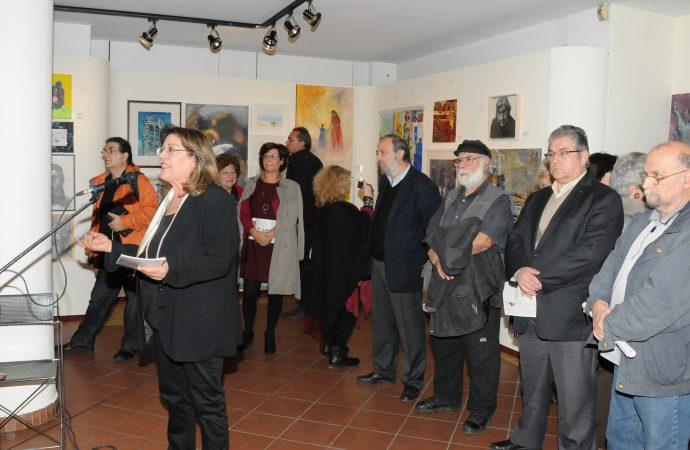 Εγκαινιάστηκε η έκθεση εικαστικών έργων για τα 60 χρόνια της ΕΕΔΥΕ
