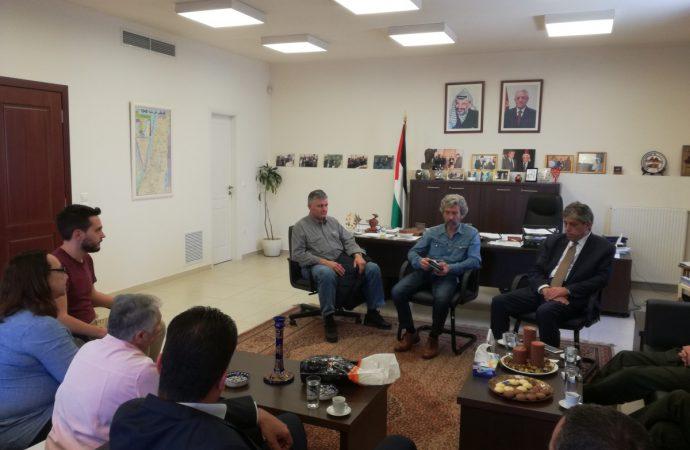 Συνάντηση ΕΕΔΔΑ και ΕΕΔΥΕ με τον πρέσβη της Παλαιστίνης