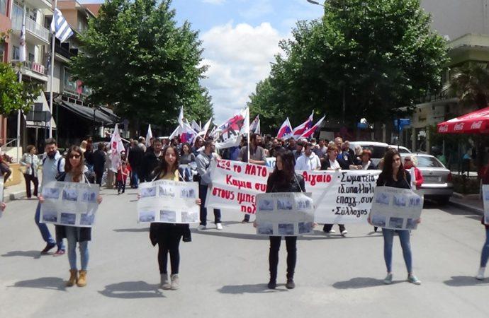 Αντινατοϊκή Αντιπολεμική συγκέντρωση και πορεία στην Αλεξανδρούπολη