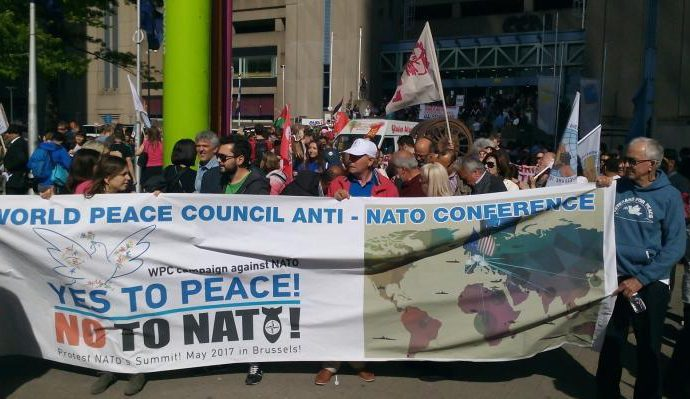 The World Peace Council concluded successfully its anti-NATO actions in Brussels