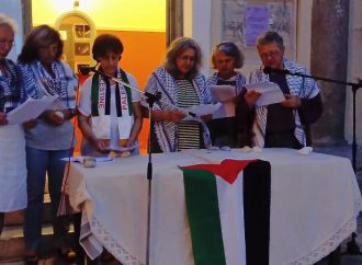 Πικετοφορία αλληλεγγύης στον Παλαιστινιακό λαό πραγματοποίησαν οι ομάδες γυναικών Άργους και Ναυπλίου της ΟΓΕ και η Επιτροπή Ειρήνης Αργολίδας
