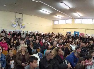 Πλήθος κόσμου στην εκδήλωση της Επιτροπής Ειρήνης Ιλίου