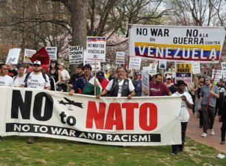 Εκδηλώσεις κατά του ΝΑΤΟ στην Ουάσινγκτον στα 70χρονά του