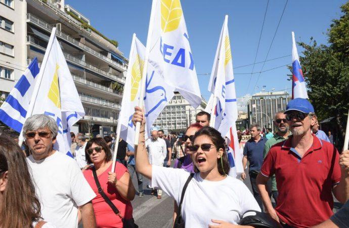 Συγκέντρωση ενάντια στην επίσκεψη του γγ του ΝΑΤΟ