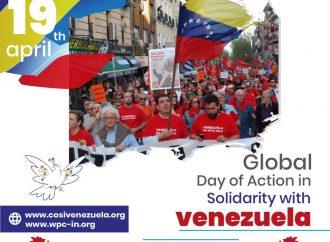 Παγκόσμια Ημέρα Δράσης για την Αλληλεγγύη με τον λαό της Βενεζουέλας